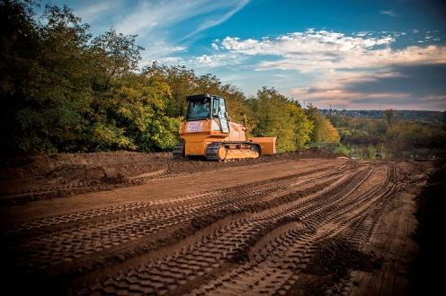 Megkezdték a Mogyoród és Fót megközelítését szolgáló új M3 autópálya csomópont építését