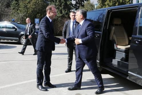 Orbán Viktor adta át a Szigetszentmiklósi Igazgatási Központot