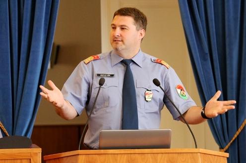 Konferencia a Pest Megyei Védelmi Bizottság szervezésében