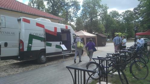 Kormányablak busz az V. Kőrösi Möggyfesztiválon