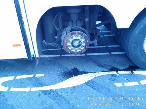Buszokat ellenőriztek Pest megyében
