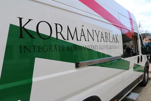 A mobil kormányablak busz legfontosabb szolgáltatásai