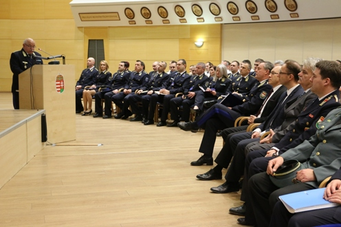 Rendőrkapitánysági évértékelő Pest megyében