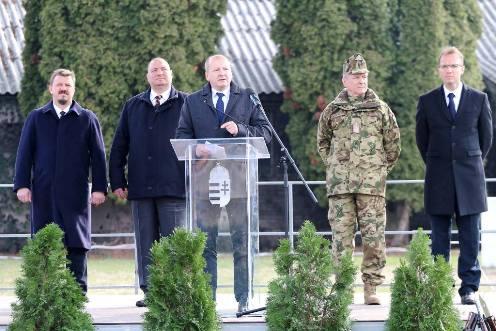 Minden katona erősíti Magyarország biztonságát